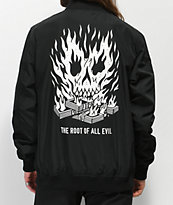 Lurking Class By Sketchy Tank Black Bomber Jacket