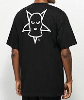 Lurking Class By Sketchy Tank Black T-Shirt