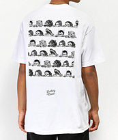 Lurking Class By Sketchy Tank Lurkers camiseta blanca