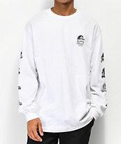 Lurking Class By Sketchy Tank Lurkers camiseta blanca de manga larga