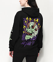 Lurking Class by Sketchy Tank Fungus Blacklight sudadera con capucha