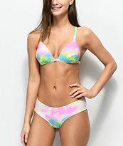 Malibu Multi Tie Dye Cheeky Bikini Bottom