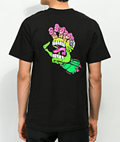 Mars Attacks x Santa Cruz Screaming Hand camiseta negra