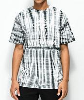 Marshin Twisted camiseta gris con efecto tie dye