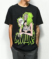 Mishka Mouths Of Madness camiseta negra