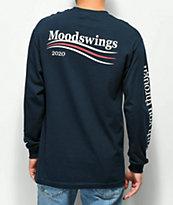 Moodswings 2020 Vision Navy Long Sleeve T-Shirt