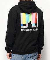 Moodswings Broadcast Black Hoodie