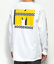 Moodswings Checkered Cab camiseta blanca de manga larga