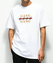 Moodswings Gang Gang White T-Shirt