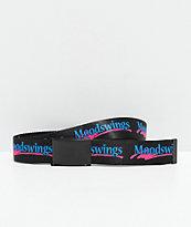 Moodswings Logo Black Web Belt