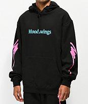 Moodswings Nacho Cheese Black Hoodie