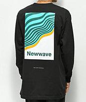 Moodswings New Wave Black Long Sleeve T-Shirt