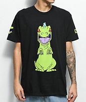 Neff Reptar Rugrats Black T-Shirt