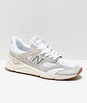 finest selection 7b532 82a3c New Balance Lifestyle X90 Reconstructed Nimbus zapatos blancos y grises    Zumiez