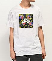 Nike Floral Safari Box Logo White T-Shirt