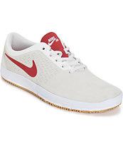 Nike Free SB Nano Summit White & Gym Red Shoes