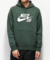 Nike SB Icon Midnight Green Hoodie