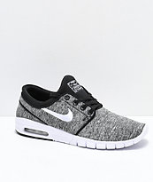 Nike SB Janoski Air Max Heather Grey Skate Shoes