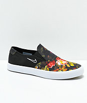 Nike SB Portmore II Solar Floral Slip-On Shoes