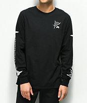 Nike SB Roses Black & White Long Sleeve T-Shirt
