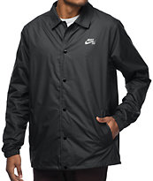 Nike SB Shield chaqueta entrenador en negro