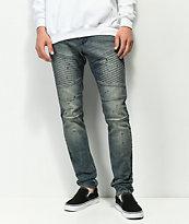 Ninth Hall Decoy Moto Clutch Dirty Blue Jeans