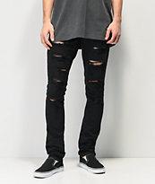 Ninth Hall Rogue jeans rotos negros
