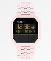 Nixon Re-Run reloj digital rosa pétalo mate
