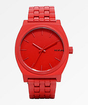 Nixon Time Teller All Red Analog Watch