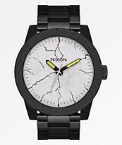 Nixon x Metallica Corporal SS And Justice For All reloj negro