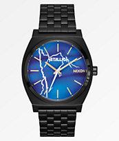 Nixon x Metallica Time Teller Ride The Lightning Black Watch