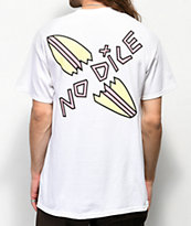 No Dice Snapped White T-Shirt