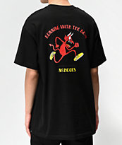 NoHours Running Black T-Shirt