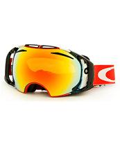 70f4d18d08 Oakley Airbrake Shaun White Future Primitive Red Goggle