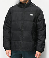 Obey Bouncer chaqueta aislada negra