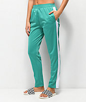 Obey Cashed Out Mallard Green Track Pants
