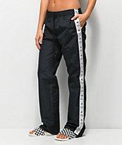 Obey Cerise Black Track Pants