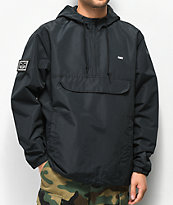 Obey Crosstown II Black Anorak Jacket