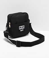Obey Drop Out Black Crossbody Bag