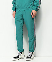 Obey Eyes Teal Track Pants