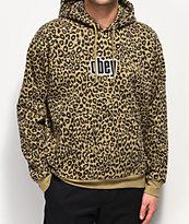 Obey Gusto Leopard Print Hoodie