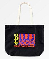 Obey Mind Parasites Black Tote Bag