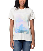 Obey New Life After Hours Natural Tee Shirt