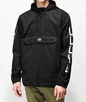 Obey New World 3 Black Anorak Jacket