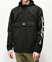 Obey New World 3 chaqueta anorak negra