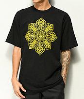 Obey Stop The Violence Mandala Black T-Shirt