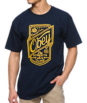 Obey Streets Are Ours Navy T-Shirt