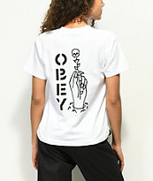 Obey Till Death White T-Shirt