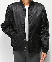 Obey Timeless Black Bomber Jacket