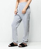 Obey Weekender Grey Jogger Sweatpants